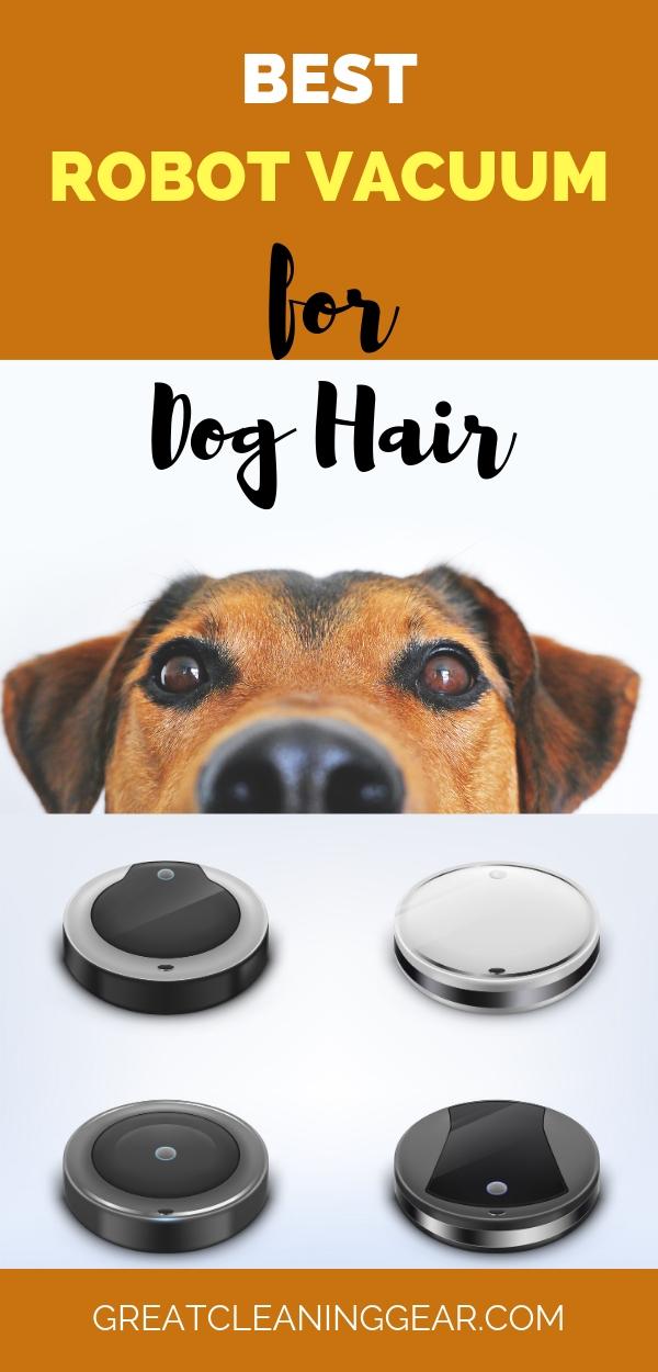 best robotic vacuum for dog hair