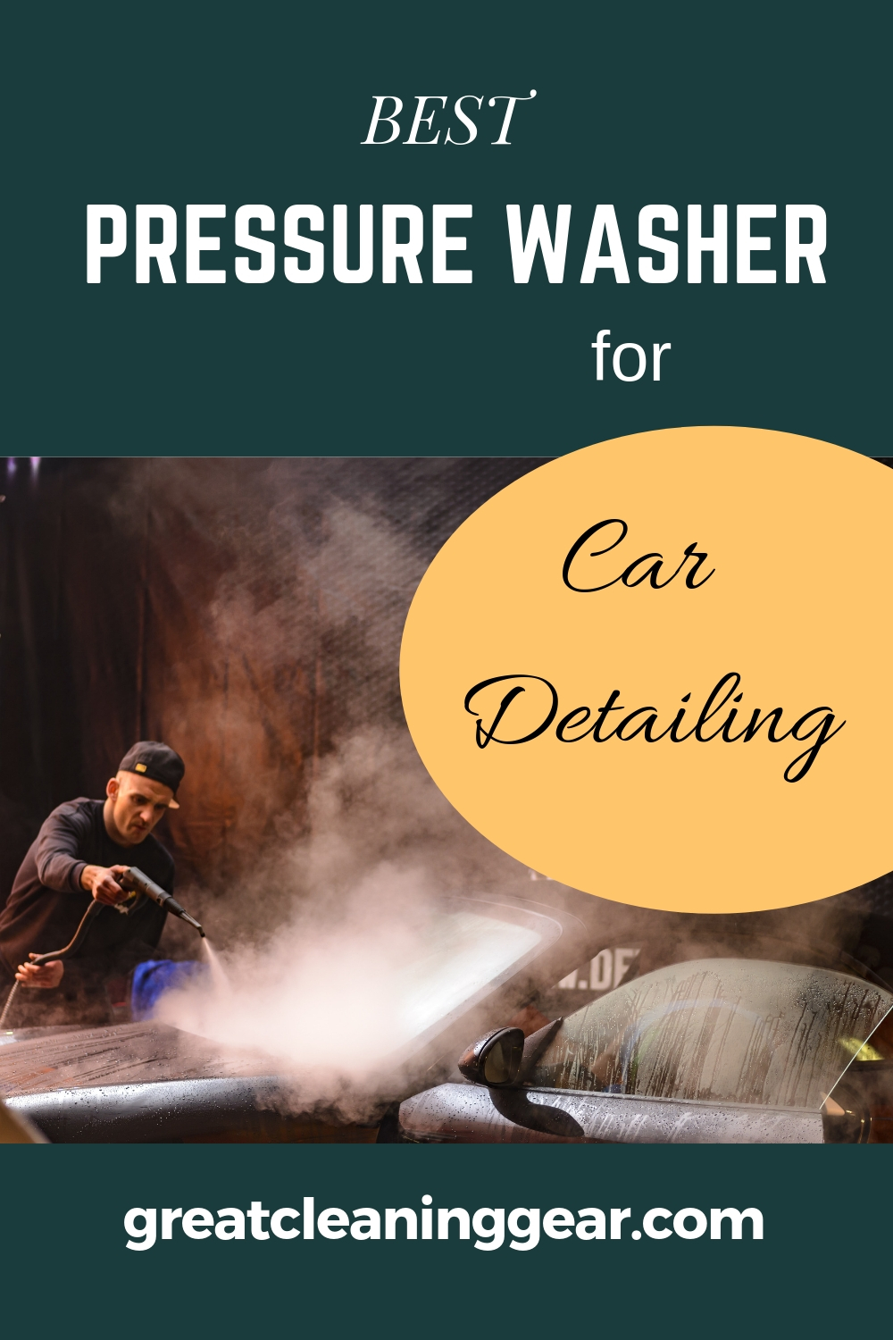 Best Pressure Washer For Car Detailing