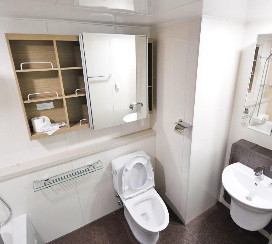 scrub free bathroom cleaner with bleach